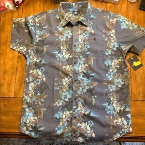 O'Neill Mens Tropical Button-down Shirt